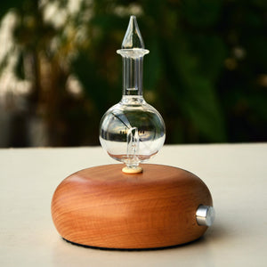 New Wood & Glass NEGATIVE ION Diffuser 7 Color Pro Nebulizing Aromatherapy Essential Oil Diffuser - Electric Bicycle