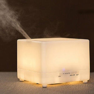 Large Capacity 700ml Ultrasonic Essential Oil Diffuser LED With Timer High/Low Mist Output - Electric Bicycle