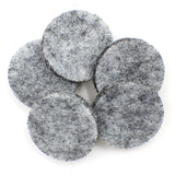 20pcs Aromatherapy Essential Oil Felt Pads - Fits 30mm Car Vent or Jewelry Diffuser - Electric Bicycle