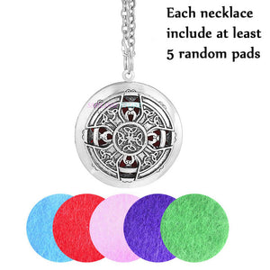 Dream Catcher Viking Essential Oils Diffuser Necklace Locket - Electric Bicycle