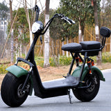 Citycoco Electric Scooter with Hydraulic Disk Brakes and Lithium Battery - Electric Bicycle