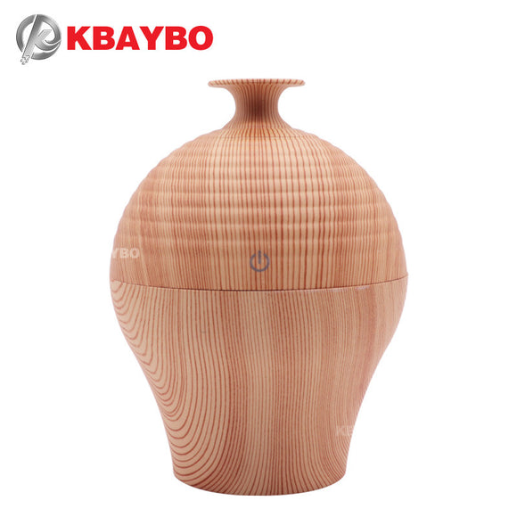 250ml USB Essential Oil Diffuser Electric Aroma Diffuser Aroma Wood Lamp Air Humidifier Aromatherapy Mist Maker for Home - Electric Bicycle