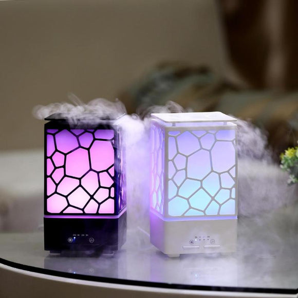 Sweet Net Quiet Ultrasonic Mist Maker Essential Oil Aromatherapy Diffuser with Colorful LED Lights - Electric Bicycle