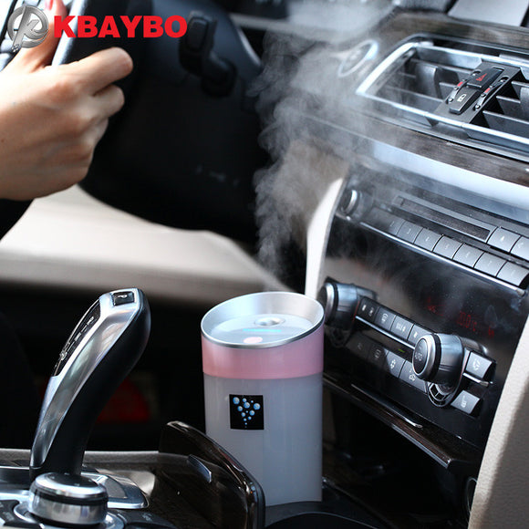 Car humidifier USB Aromatherapy diffuser essential oil diffuser air Ultrasonic humidifier air Aroma diffuser mist maker 300ML - Electric Bicycle