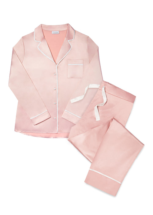 Rose Cloud Trouser Pyjama Set