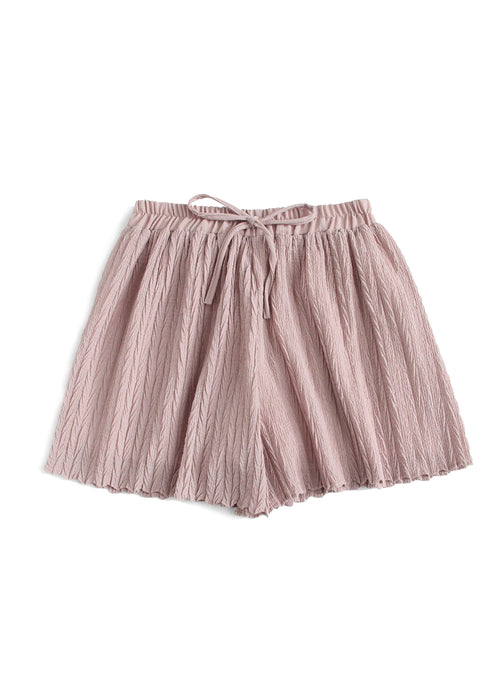 Rose Pleated Shorts