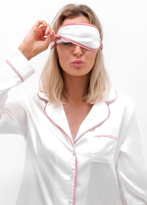 Blanc Rose Cloud Eye Mask