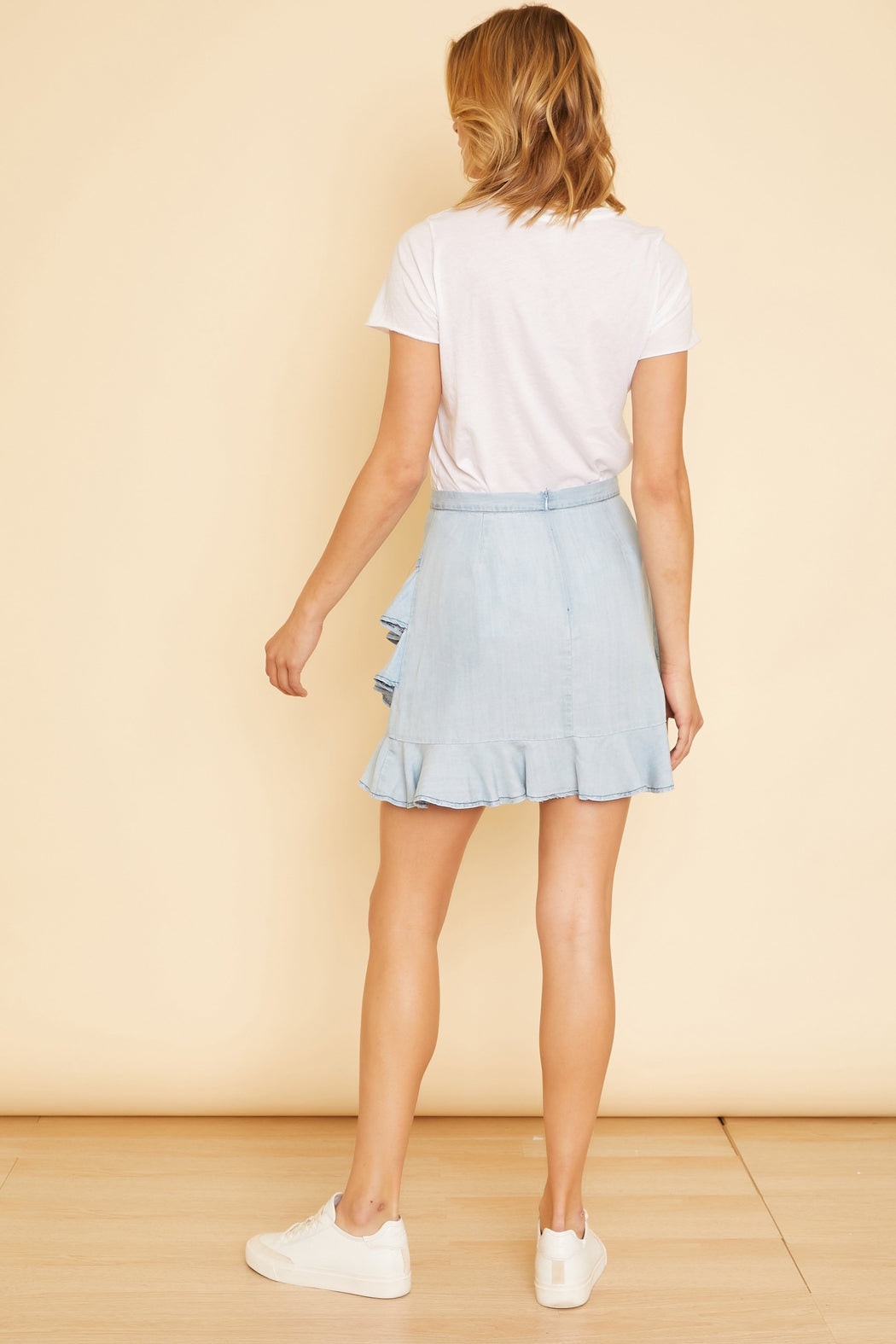 Ruffle Around Mini Skirt - wearNYLA