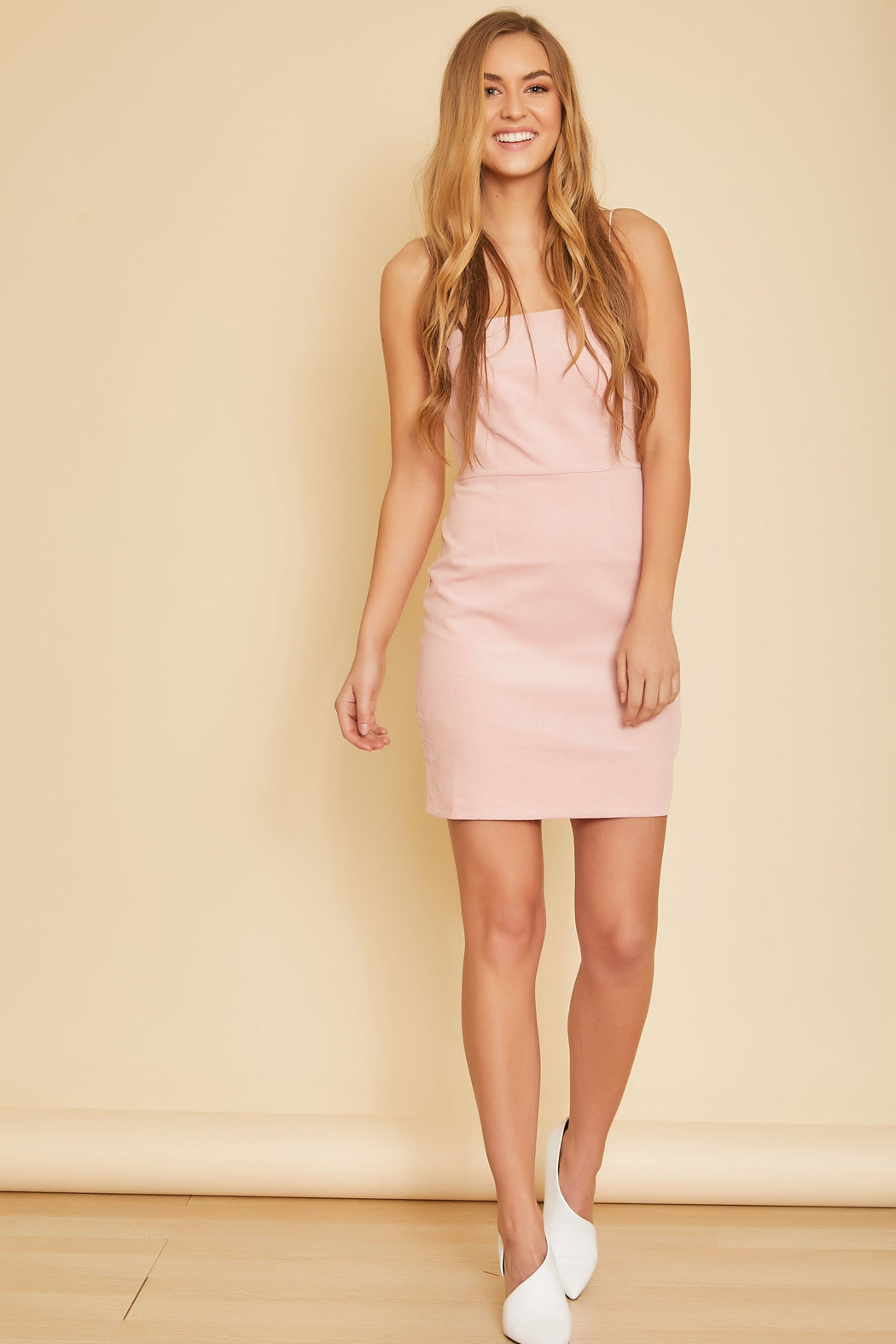 Marianne Corduroy Sleeveless Dress - wearNYLA