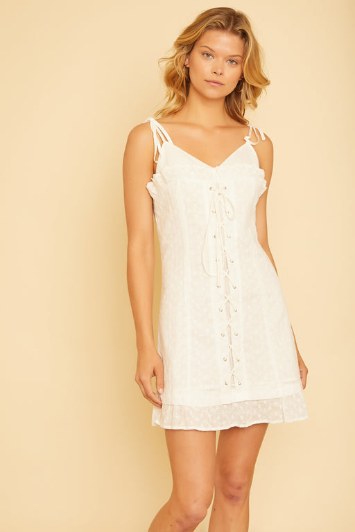Eyelet Mini Dress - wearNYLA