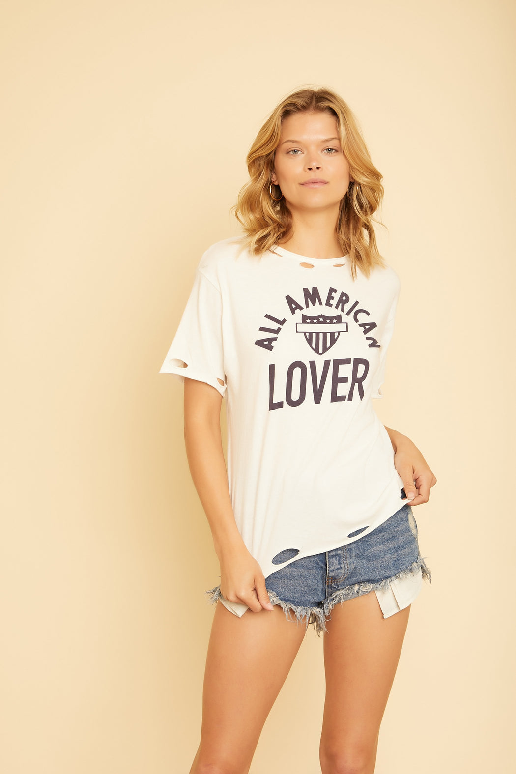 All American Lover Tee - wearNYLA