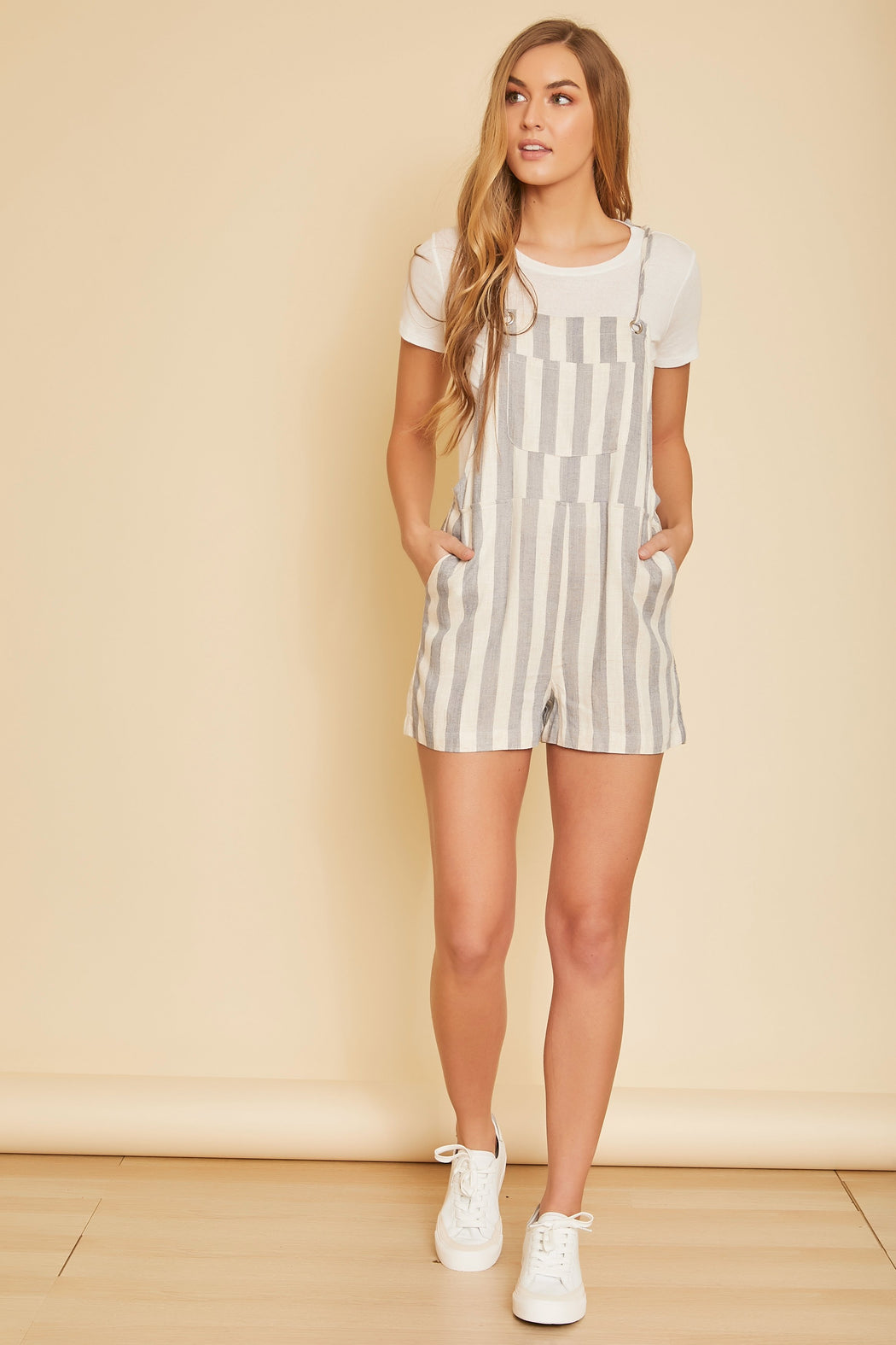 Riviera Striped Playsuit - wearNYLA