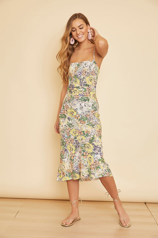 Hudson Flower Print Dress - wearNYLA