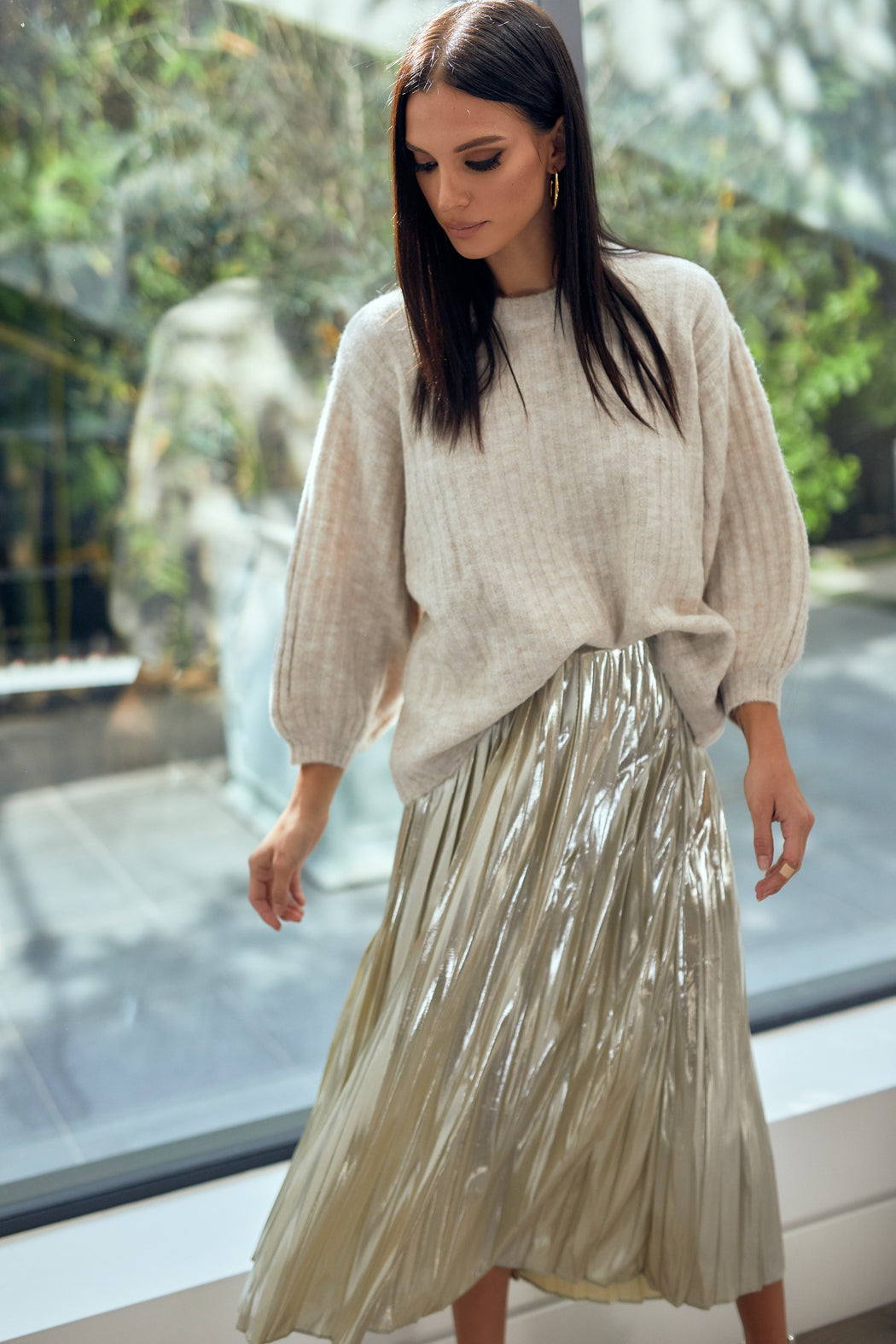Carly Pleated Skirt
