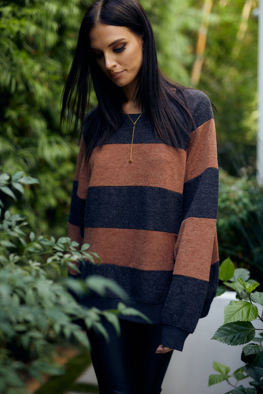 Leona Striped Sweater - wearNYLA