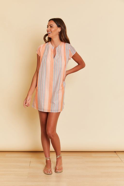 Vienna Striped Dress - wearNYLA