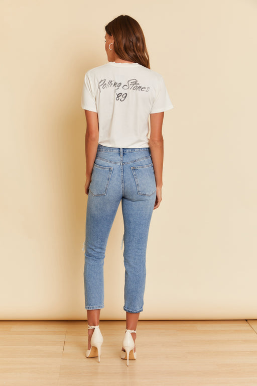 Florence Destroyed Girlfriend Denim - wearNYLA