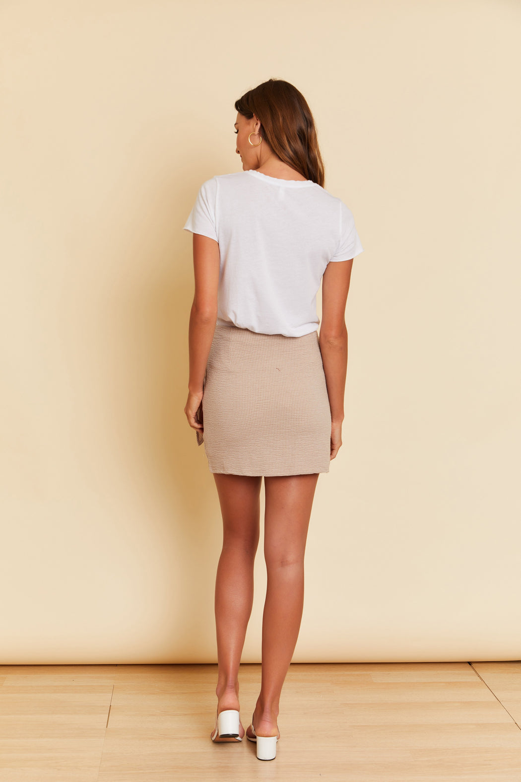 Molly Tie Knit Skirt - wearNYLA