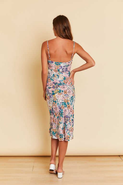 Elena Flower Print Dress - wearNYLA