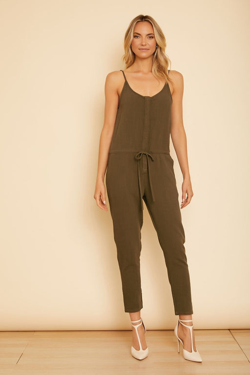 Krysti Sleeveless Crop Jumpsuit - wearNYLA