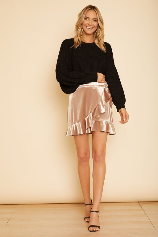 Look This Good Wrap Skirt - wearNYLA