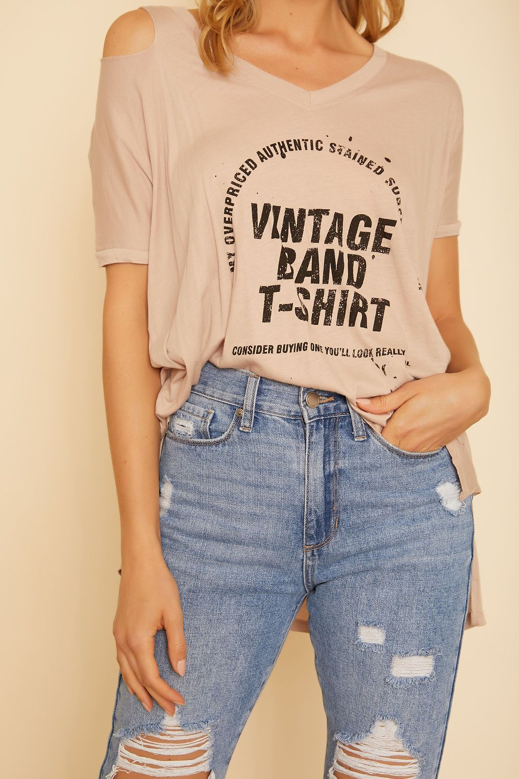 Lizzie Vintage Band T-Shirt - wearNYLA