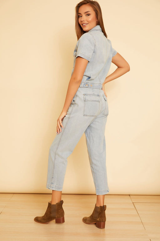Parker Denim Jumpsuit - wearNYLA