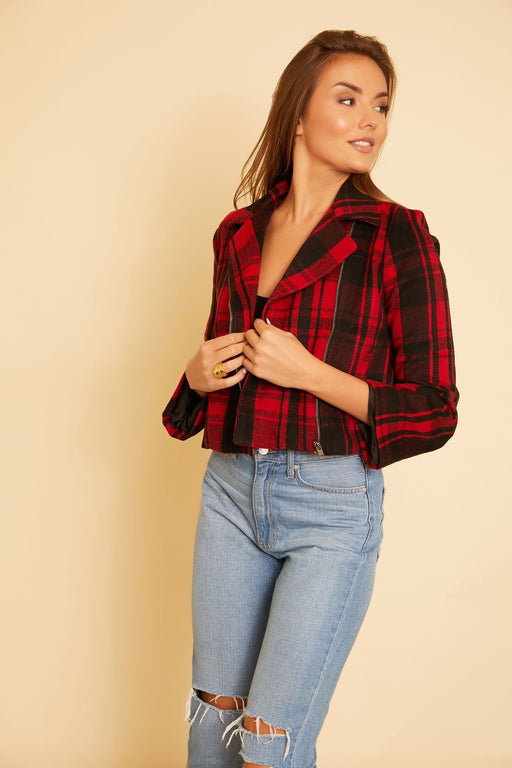 Out Of The Woods Plaid Jacket - wearNYLA
