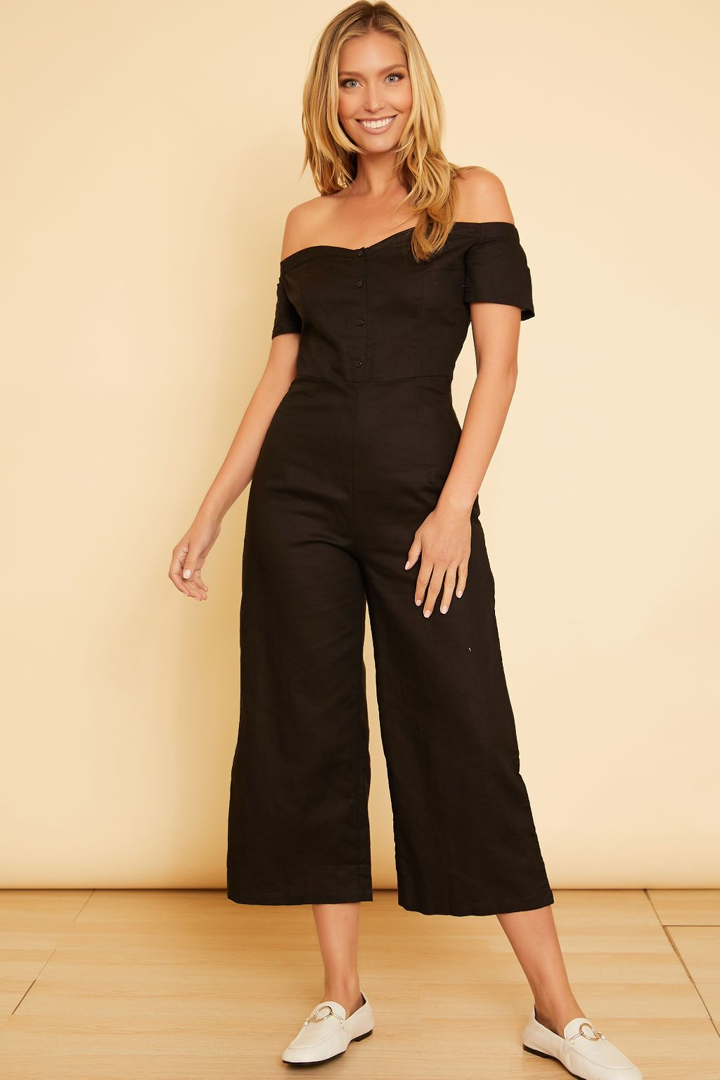 Off the Shoulder Jumpsuit - wearNYLA