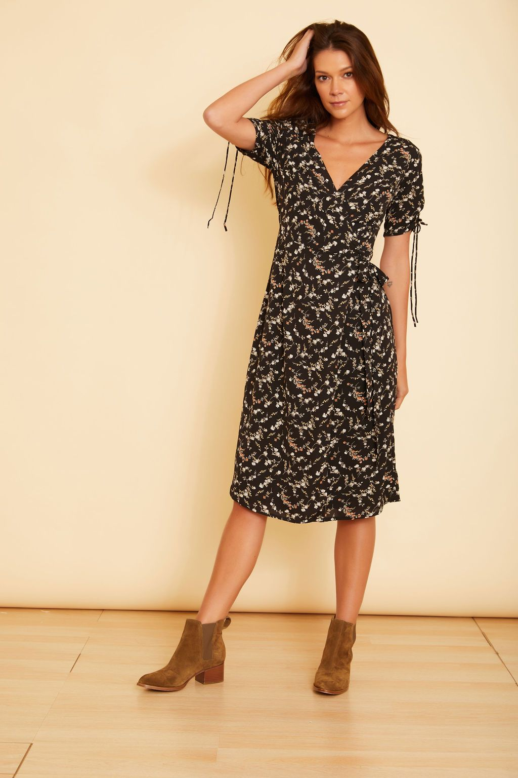 Emilia Wrap Dress - wearNYLA