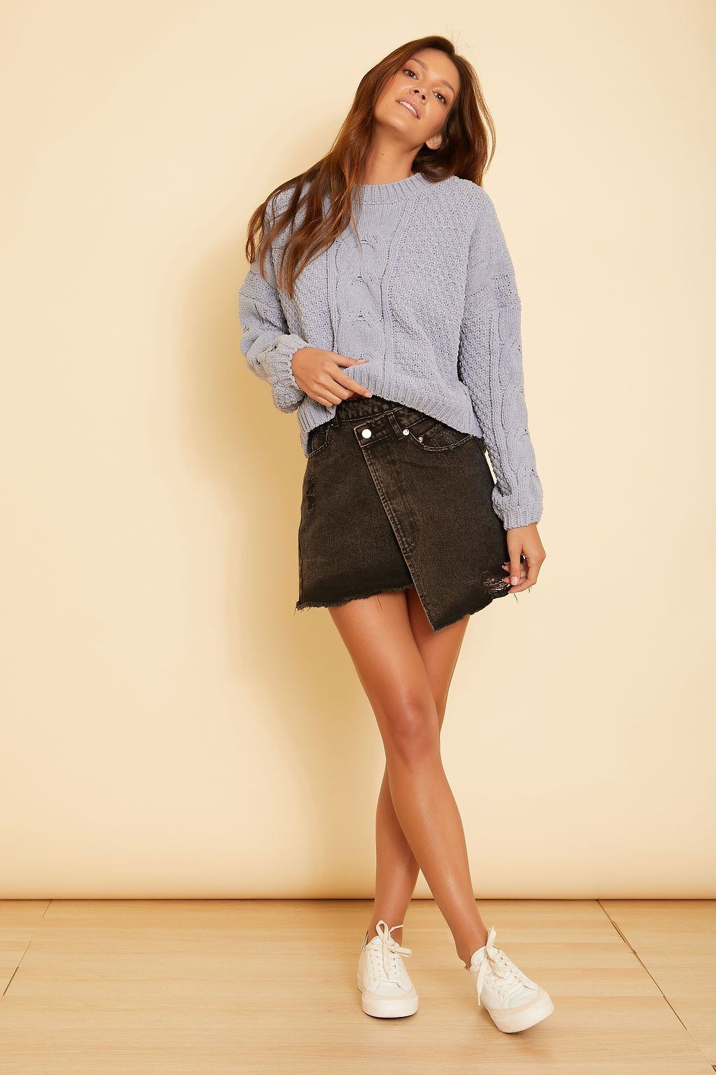 Astrid Denim Skirt - wearNYLA