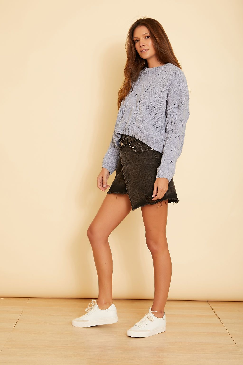 Dahlia Crop Sweater - wearNYLA