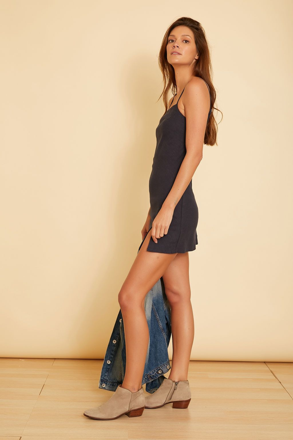 Antonia Sleeveless Mini Dress - wearNYLA