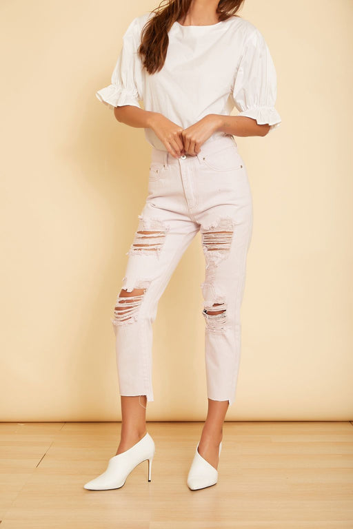 Cape Cod Distressed Denim - wearNYLA