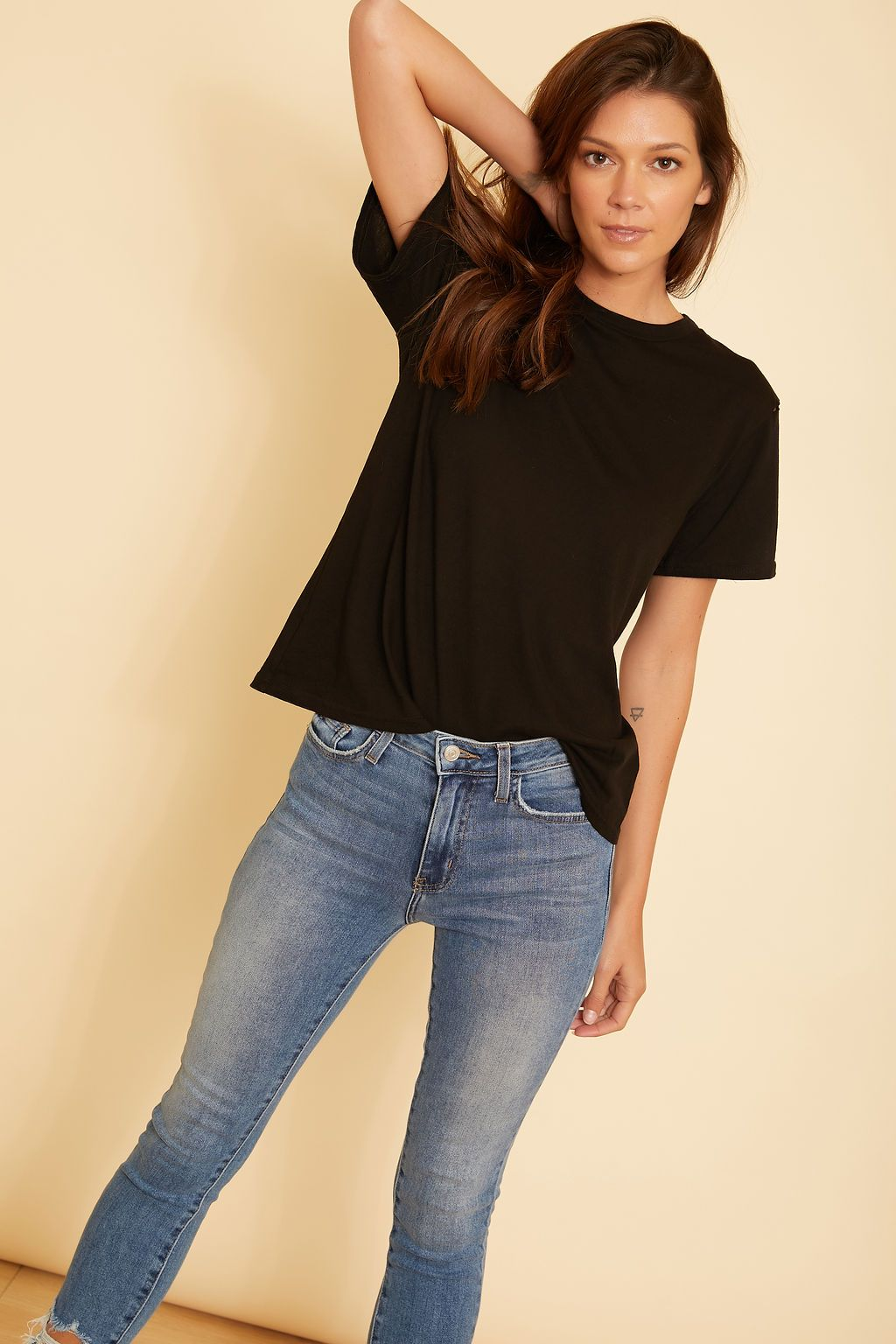 Skye Crew Neck Top - wearNYLA