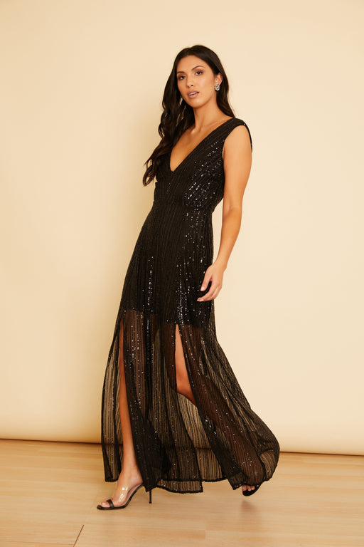 Knockout Sequin Gown - wearNYLA