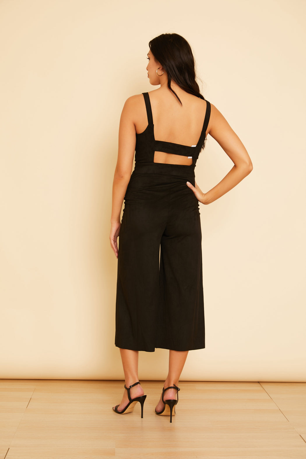 Day n Night Faux Suede Jumpsuit - wearNYLA