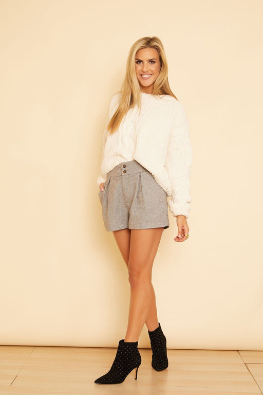 Dylan Pleated Shorts - wearNYLA
