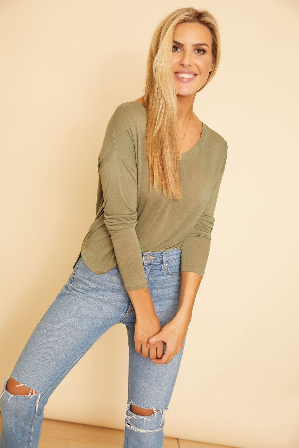 Kendra Long Sleeve Top - wearNYLA