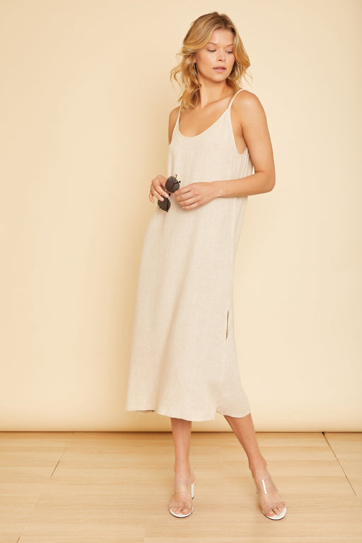 Roma Long Slit Dress