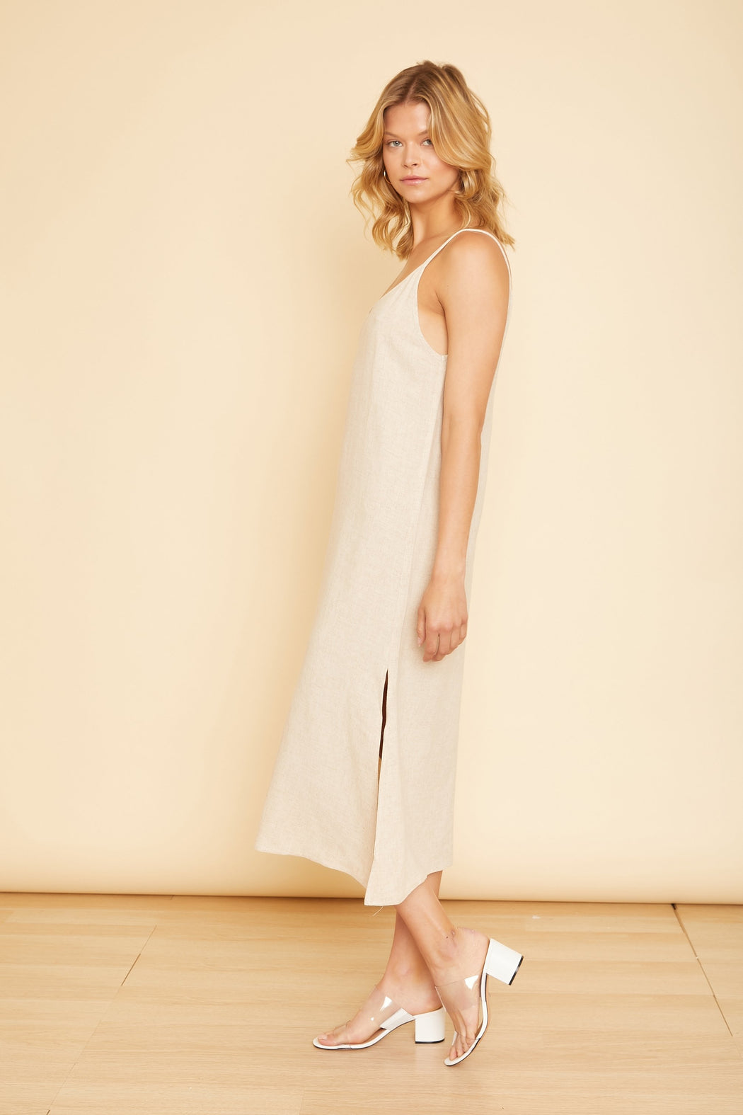Roma Long Slit Dress - wearNYLA