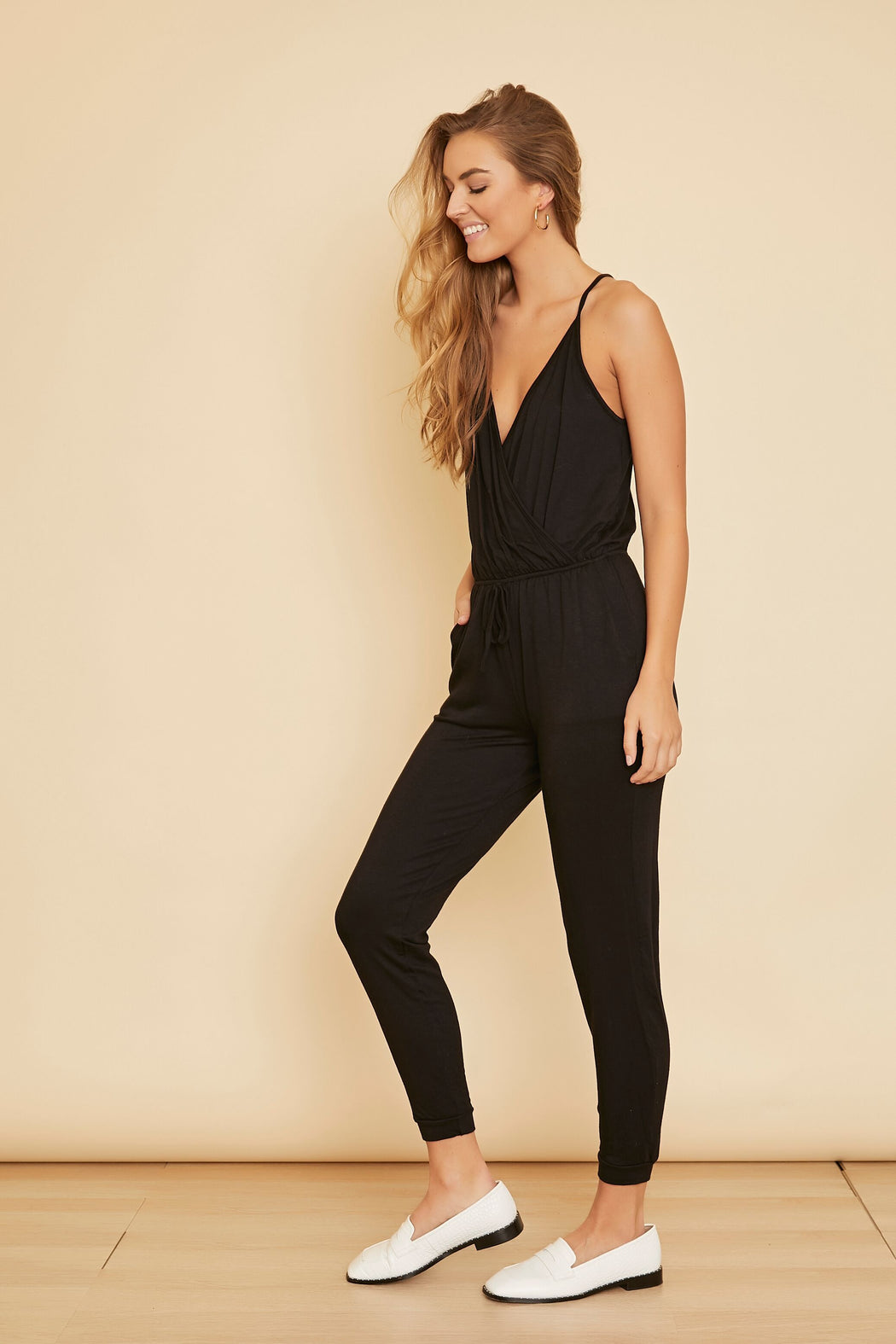 Nadia Sleeveless Jumpsuit - wearNYLA