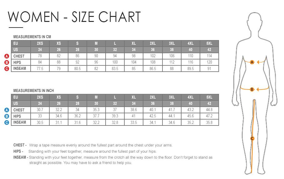 Image result for women size chart usa