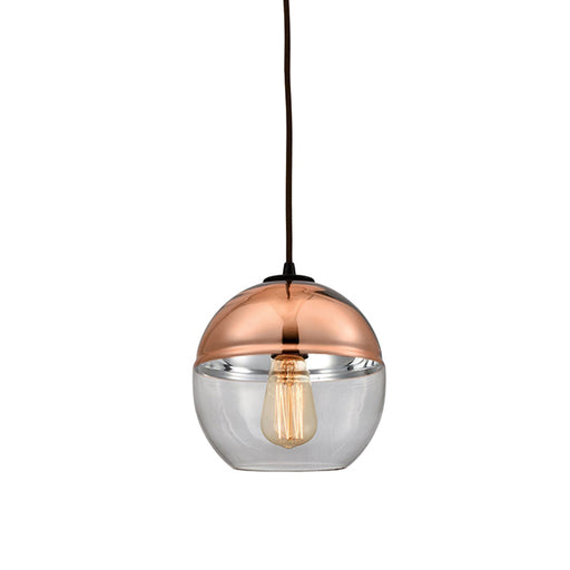 REVELO 1 LIGHT PENDANT IN OIL RUBBED BRONZE