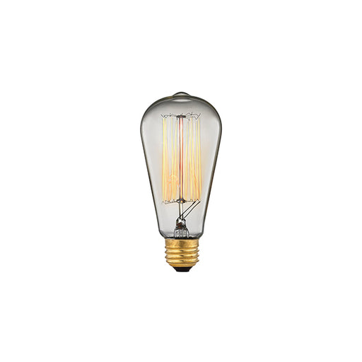 MEDIUM BASE 60-WATT INCANDESCENT EDISON BULB