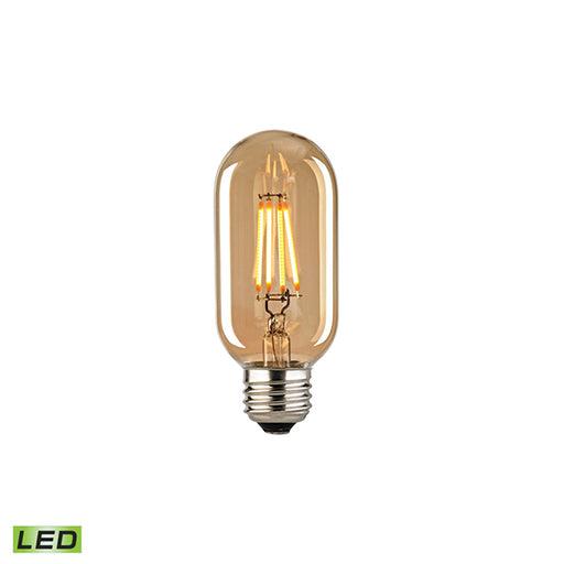 MEDIUM BASE LED 3-WATT BULB WITH LIGHT GOLD TINT