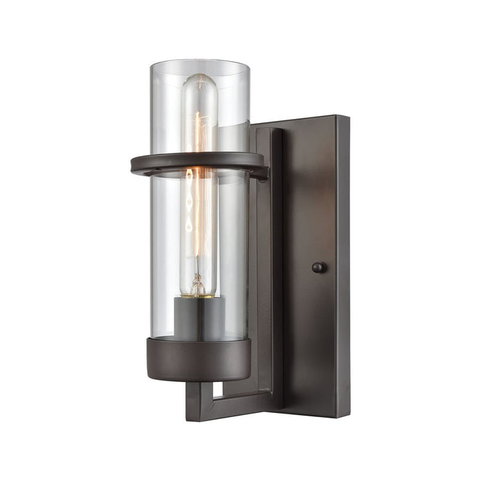 HOLBROOK 1 WALL SCONCE OIL RUBBED BRONZE