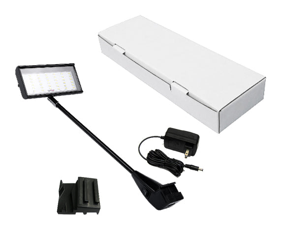 High Output LED Arm Light (Black or Silver Finish)