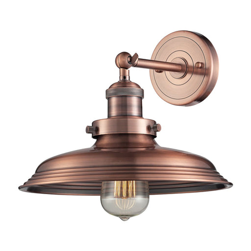 NEWBERRY COLLECTION 1-LIGHT SCONCE ANTIQUE COPPER OR BLACK FINISH