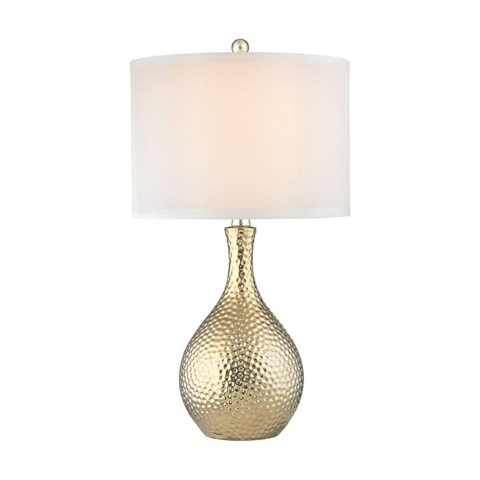 SOLEIL TABLE LAMP IN GOLD PLATE